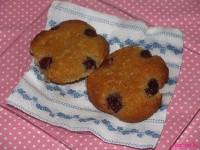 Meggyes-joghurtos muffin