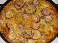 Házi pizza gyorsan és egyszerűen