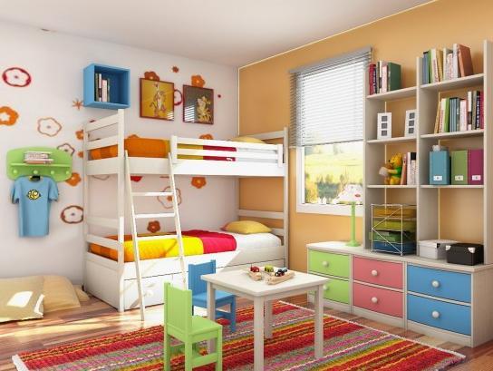 2 gyerek egy szoba – okosan berendezve élhető megoldás