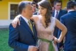 Újabb képek Orbán Ráhel esküvőjéről