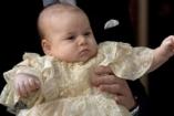 Megkeresztelték György herceget