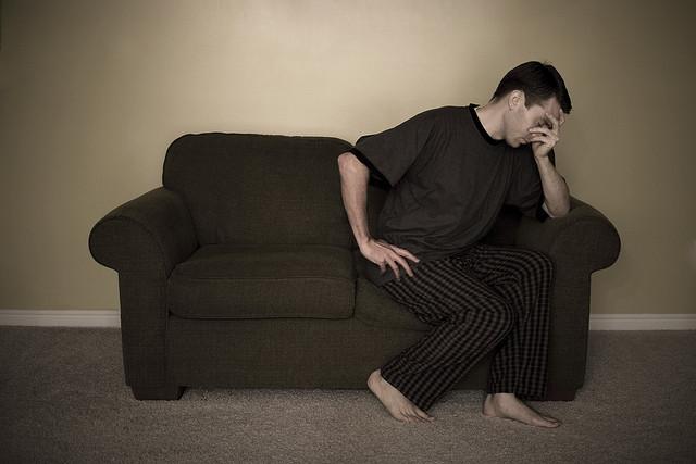 A férfiak is depressziósak lehetnek a szülővé váláskor