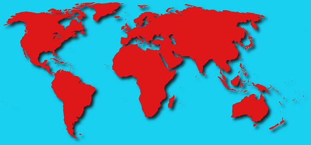 Döbbenet: szimulációs térkép a világ népességéről