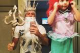 Képek: Jópofa családi jelmezek Halloweenra