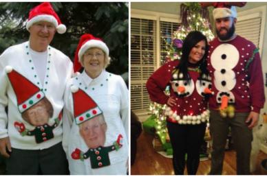 Meghökkentő karácsonyi pulóverek! Melyiket választanátok?