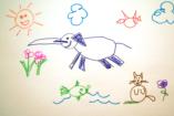 Így lesznek gyönyörű képek a gyerekfirkákból