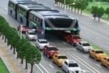Futurisztikus busz lehet a megoldás az óriási kínai közlekedési dugókra