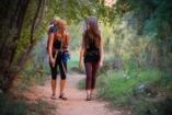 GALÉRIA: Édesanyák, akik gyermekükkel túráznak a vadonban