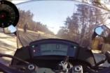 Motoros menti meg az elkóborolt csöppséget