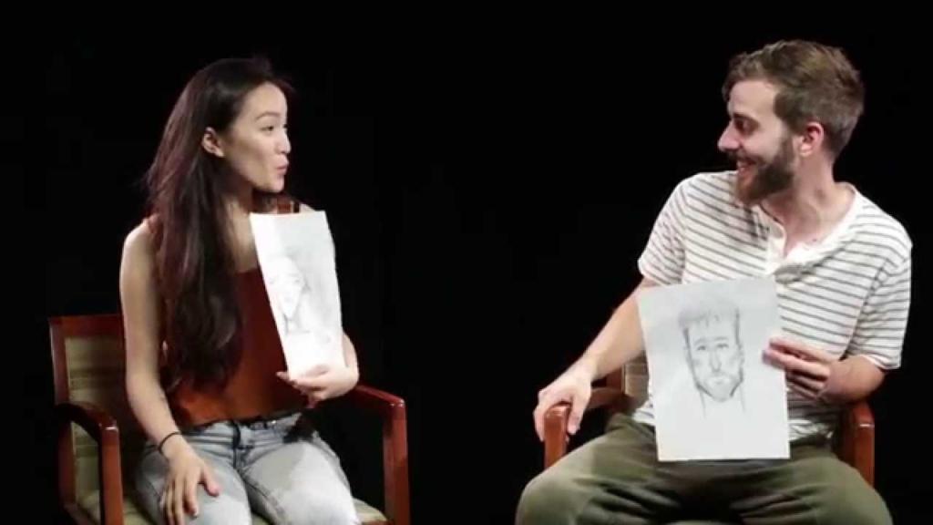 Készítek egy rajzot a párodról, mesélnél róla? - vicces videó