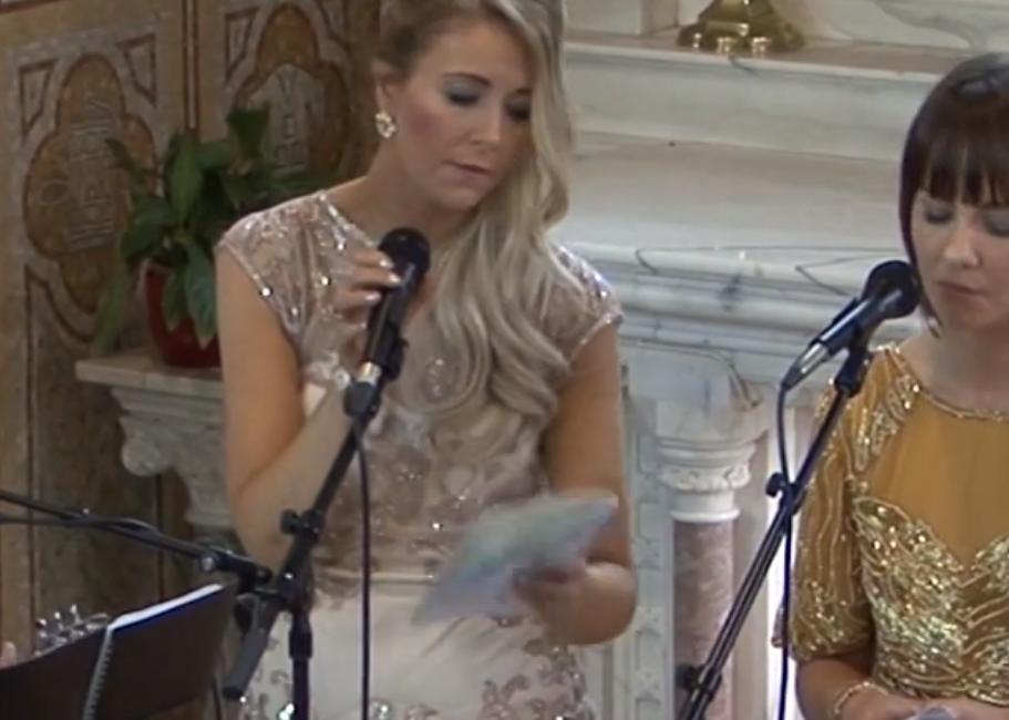Édes meglepetés az esküvőn - VIDEÓ