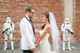 Darth Vader, fénykard és droid vendégek - az esküvődön minden lehetséges!