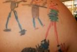 Tetovált gyerekrajzok