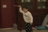VIDEÓ: 3 éves karmester