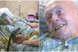 91 éves rákos bácsi köt sapkákat hajléktalanoknak