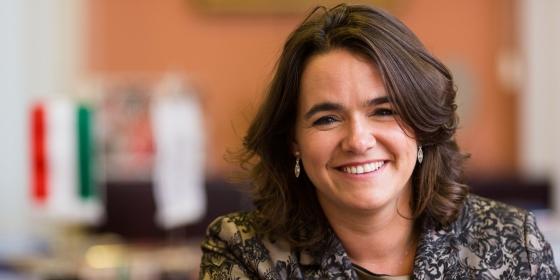 Novák Katalin: Mi odafigyelünk rád, mint egy család tagjára