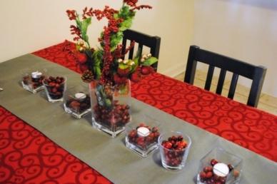 Egyedi asztaldíszek karácsonyra, amelyeket bárki el tud készíteni