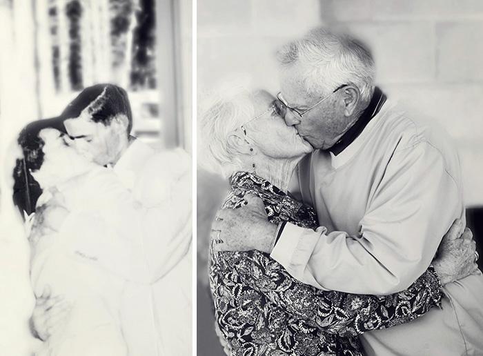 Megható fotók: az igaz szerelem örök