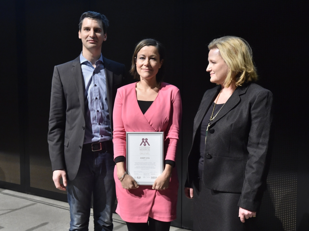Ki kapta idén a Családbarát Médiáért díjat?