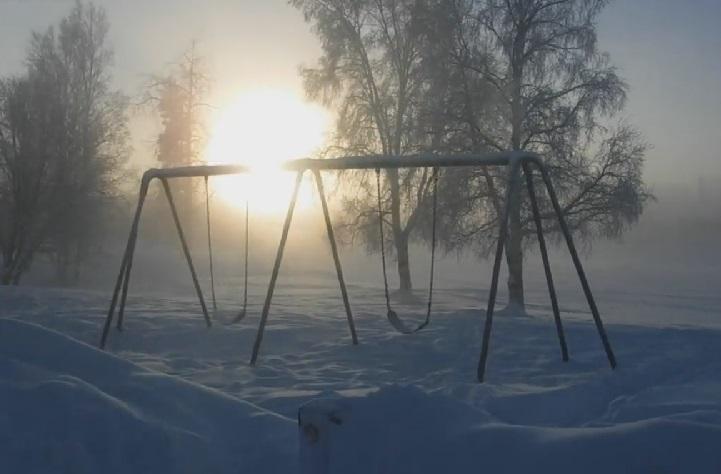 Azt hiszem Alaszkában is hideg van! - VIDEÓK