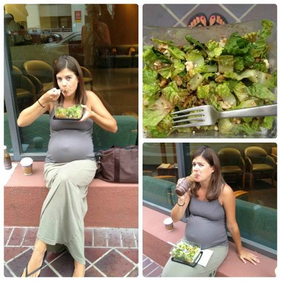 Túlhordod a babád? Semmi gond! Térj be hozzánk egy salátára!
