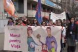 Több ezren tüntettek Romániában az abortusz ellen