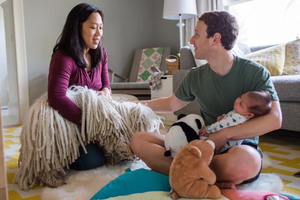 Másodszorra is kislányt vár Mark Zuckerberg és felesége
