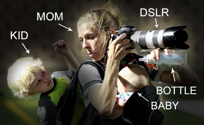 Szuper anyu akcióban! Nem is nehéz a dolgozó nők élete!