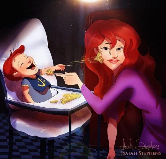 Szülői lét Disney mese módra