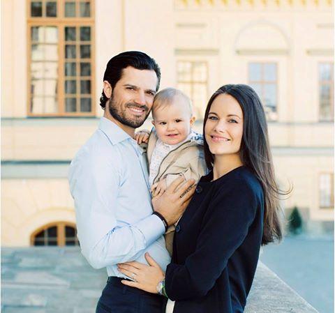 Egy éves lett a svéd Alexander herceg