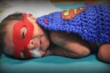 Icipici szuperhősök – koraszülöttek jelmezben