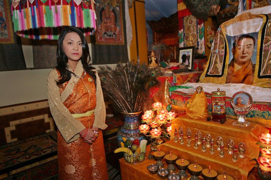 Fotókon a nép hercegnője - Csodálatosan szép a tibeti Diana hercegnő