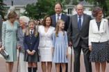 A spanyol Szófia hercegkisasszony elsőáldozása - KÉPEK