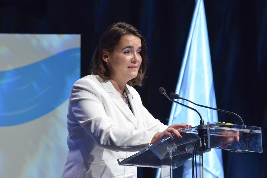 Novák Katalin: belső erőforrásaira támaszkodik Magyarország