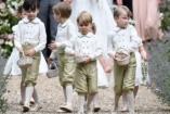 Így nézett ki György herceg és Sarolta hercegkisasszony nagynénjük esküvőjén