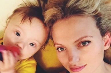 Down-szindrómás magzatok abortusza: egy modell állt ki az életért és a Down-kóros gyerekekért!