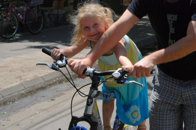 Hogyan szerettessük meg vele a kerékpározást?