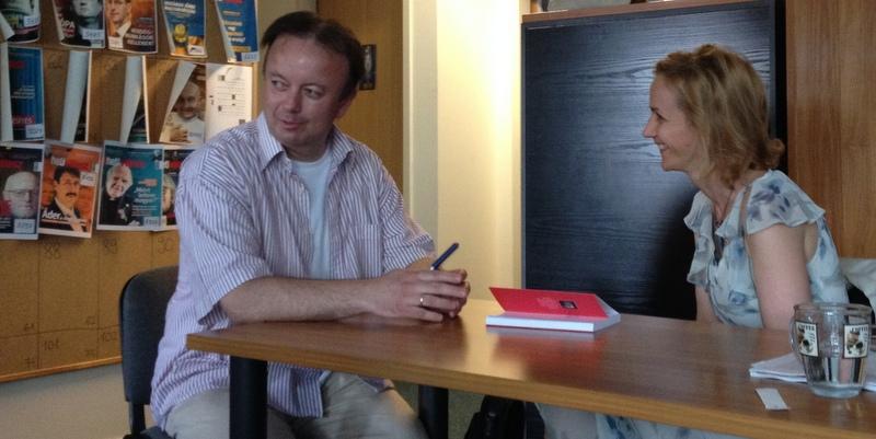 """Szőnyi Szilárd: """"Minden korábbi írásomat vállalom, így öncenzúrához nem kellett folyamodnom"""" – interjú"""