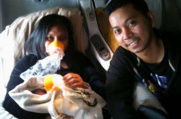 Repülőn született meg a legkisebb utas + FOTÓ