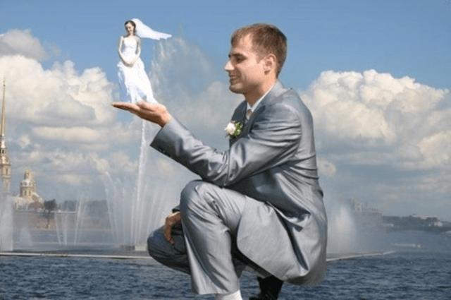 Esküvői fotók, amik finoman szólva is NAGYON furcsák