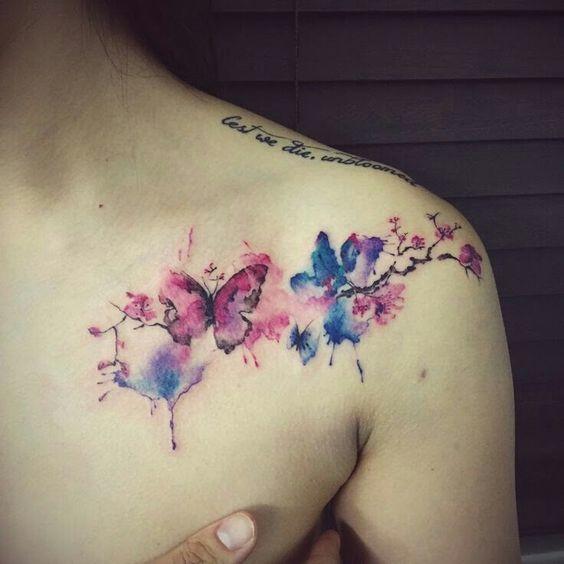 Festői tetoválást akarsz? Válaszd az akvarell stílust!