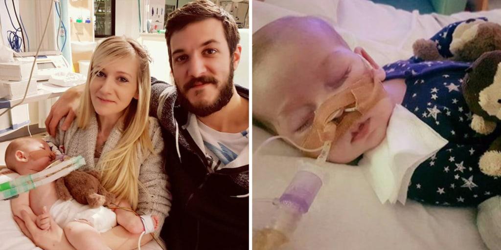Lekapcsolták a gépről a gyógyíthatatlan beteg Charlie Gardot - a szülők elengedték a kisfiút