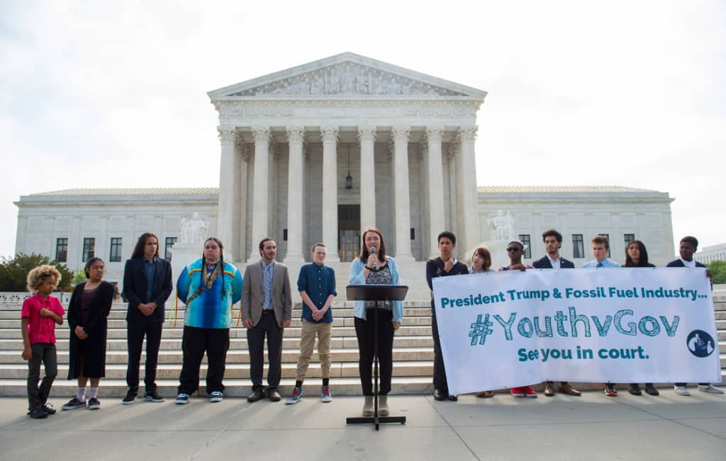Menő: amerikai gyerekek beperelik Trumpot
