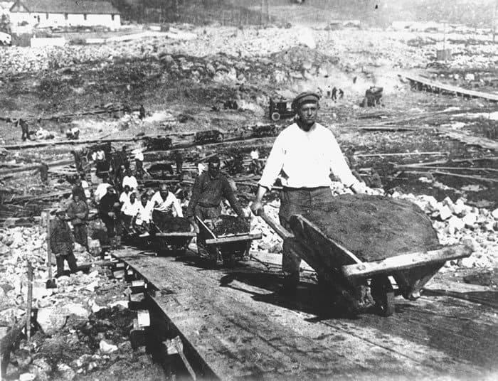Csatornaépítés Sztálin-módra