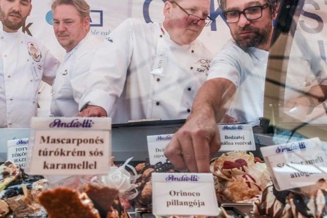 Az év fagylaltja: Mascarponés túrókrém sós karamellel- Eszenyi Ferenc, Centrum Fagyizó, Balmazújváros