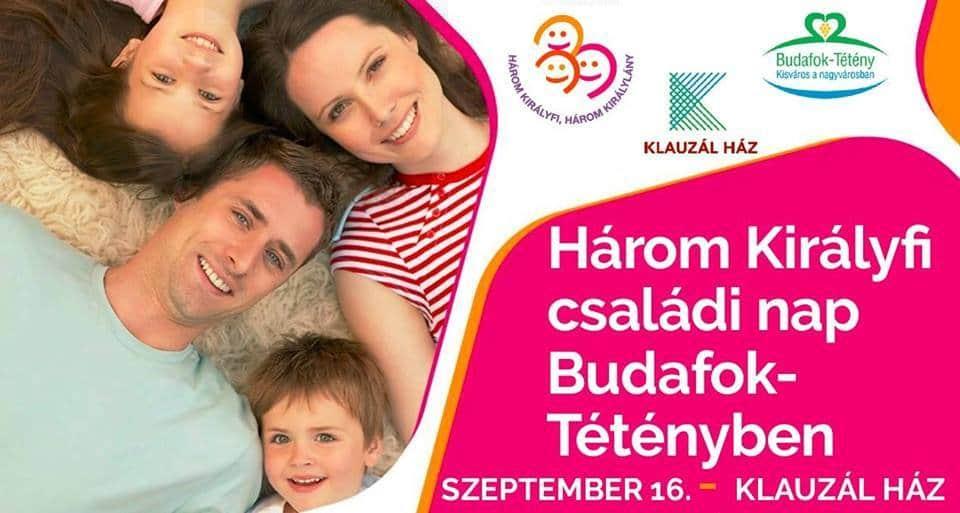 Három Királyfi családi nap Budafok-Tétényben