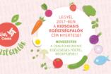 Egészségfalók a konyhában – Így eszünk mi PÁLYÁZAT