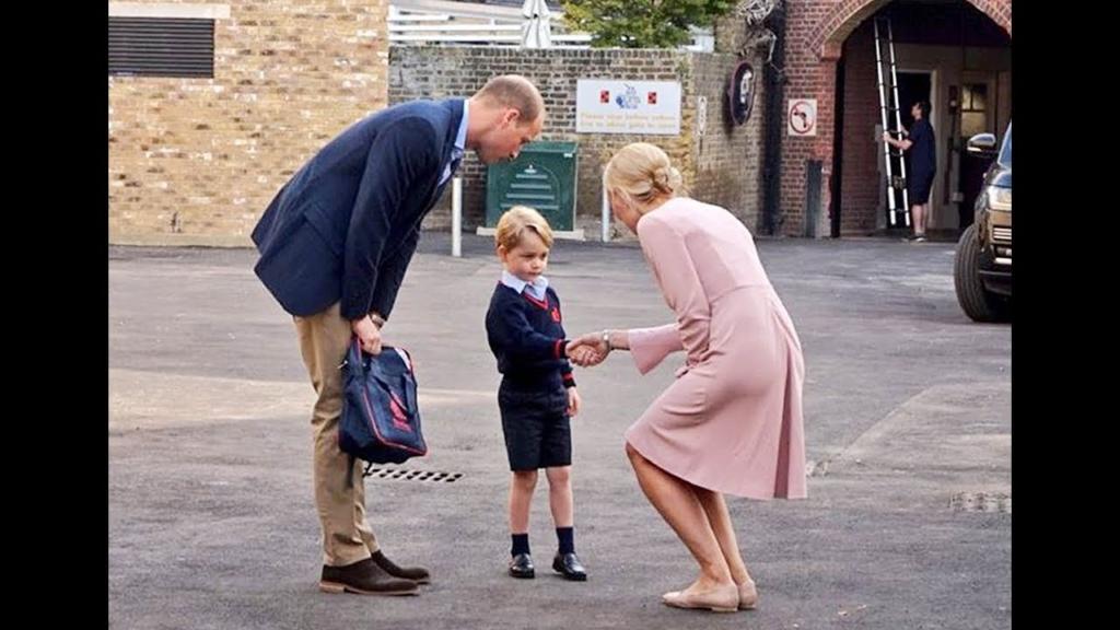 Vilmos elszólta magát: György herceg már most utál iskolába járni