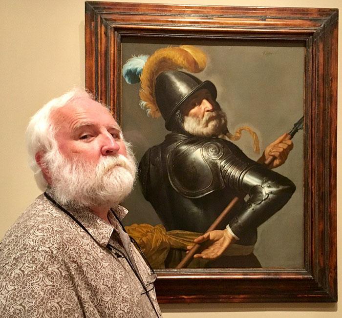 Amikor egy múzeumban találod meg a hasonmásodat...