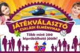 Játékválasztó: óriási társasjátékos családi élménynap és akciós játékvásár!